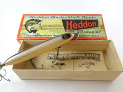 Heddon's Dowagiac Torpedo Model 130 Shiner P Color Code NEW IN BOX with Paper