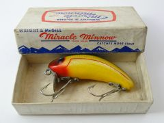 Wright & McGill Miracle Minnow EX in Box