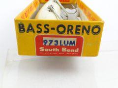 South Bend Bass Oreno in Box 973 LUM Luminous Pressed Eye in BOX