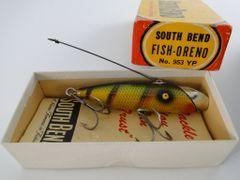 South Bend Fish Oreno NEW IN BOX 953 Yellow Perch