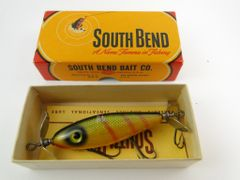 South Bend 910 YP Yellow Perch Finish Nip i Diddee NEW IN BOX with PAPERS
