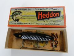 Heddon 7500 Vamp New in Box 7500 XBW Black Shore Fishing Lure