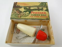 Pflueger 3796 Baby Globe New in Correct Box with Paper Insert