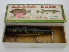 Creek Chub Darter Frog EX in Correct Box