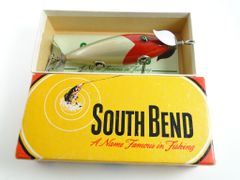 South Bend RWA Red Arrowhead Aluminum Body 910 NEW IN BOX with Papers