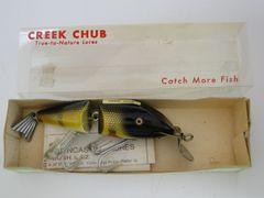 Creek Chub Wigglefish 2401 Perch NEW in CORRECT BOX + Papers