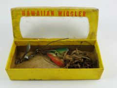 Fred Arbogast Hawaiian Wiggler in Cellophane Window Box