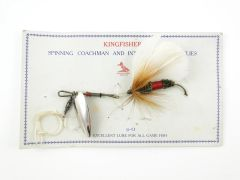 Kingfish Bass Fly Fishing Lure on Card