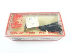 Heddon Fidgit Feather 402 B Black VG in Box