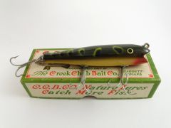Creek Chub 2019 Darter In Frog EX-NEW OLD STOCK COMBO