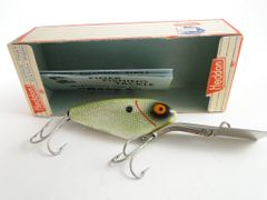 Heddon Deep 6 Model 9345 GSD Green Shad Circa 1961