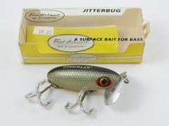 Fred Arbogast Jitterbug Fishing Lure in Box + Pocket Catalog