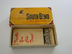 South Bend Dive Oreno 954 YP Yellow Perch Box + Papers