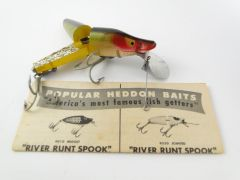 SOLD!!! Heddon Scissortail model 9830 PERCH NEW OLD STOCK with Papers!