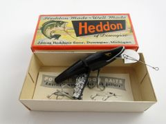 Heddon Scissortail model 9830 XBW Black Shore NEW OLD STOCK in Box!
