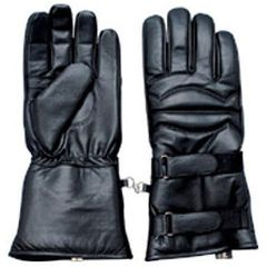 AL3061-Padded Leather Bike Riding Gloves