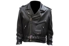 Men's Club Panel Motorcycle Jacket