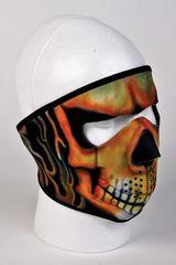 Fire Skull Face Mask