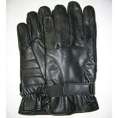 AL3025-Men's Vented Fingers Leather Gloves