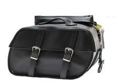 Zip Off PVC Saddle Bags