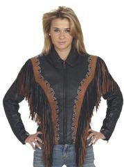 Womens Studded Motorcycle Jacket