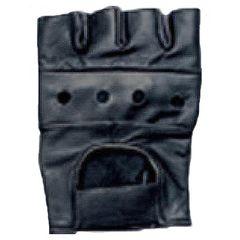 AL3000-Leather Fingerless Glove