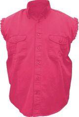 Mens Red Sleeveless Shirt