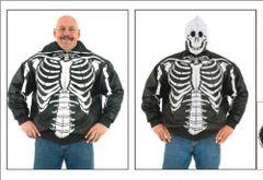 Mens Skeleton Motorcycle Jacket