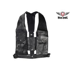 Men's Commando Style Pocket Vest