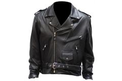 Mens Motorcycle Jacket With 1 Piece Panel For Club Patches