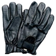 AL3015-Black Leather light weight Driving glove