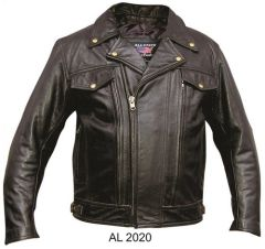Men's Double Pistol Pete Motorcycle Jacket