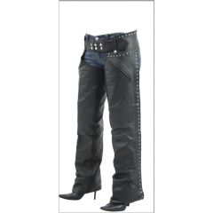 Medium Weight Soft Leather Chaps