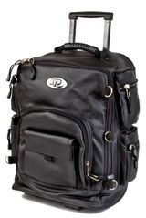 Sissy bar bag, backpack, wheeled trolley
