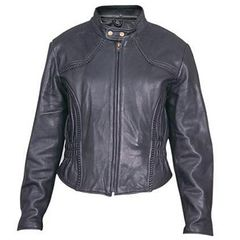 AL2142-Ladies Euro Collar Jacket