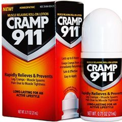 CRAMP911 - Muscle Relaxing Lotion for FAST Cramp Relief 21mL (Large Roll-on)
