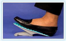 StepIt - Rocking Foot Pedal for Increased Lower Leg Circulation