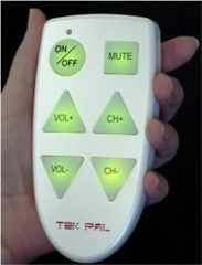 TekPal - Big Button TV Remote Control