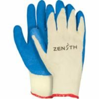 SAP927 Latex-Palm Coated 10Gauge Kevlar® Lined Gloves Elastic knit wrist Puncture Resist (SZs 8-10) ZENITH