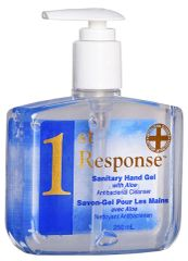 88-02 1st Response Hand Sanitizer GEL 250 mL x 12 PUMP BOTTLE GRIME EATER