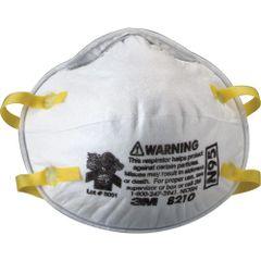 SE260 3M 8210 N95 Particulate Respirators 20/BX REGULAR SIZE