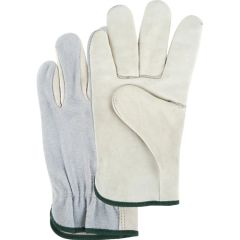 SAJ651 DRIVERS, SPLIT BACK GRAIN PALM GLOVES GUNN CUT ELASTIC BACK DEXTERITY (SML-XLR) ZENITH
