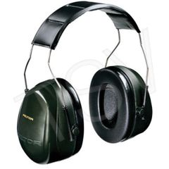 SC165 3M Peltor NRR dB27 Optime 101 Series Earmuffs #H7A DARK GREEN