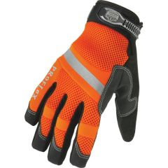 SAP871 GLOVES, High Visibility Thermal Waterproof Gloves, (SML--2XLR) ERGODYNE