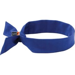 SEI656 Chill-Its® 6700FR FR Cooling Bandana MODACRYLIC BLUE Tie Closure Meets ASTM F2302 Flame Resistance