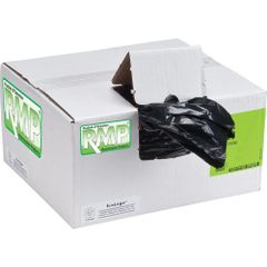 "JD134 GARBAGE BAG, BLACK 26"" x 36"" REGULAR 250/CASE RMP®"
