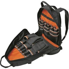 TYO472 Tradesman Pro Electrician's OR Tool Backpack Organizer