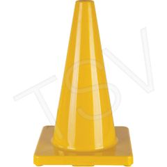 """SEH135 Coloured Cones Height: 18"""" Lightweight PVC ZENITH (Various Colours)"""