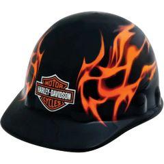**NO LONGER AVAILABLE** SAP272 HARLEY DAVIDSON HARD HAT #HDHHAT10FM FLAME DESIGN ONLY