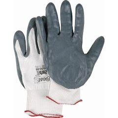 SAK964 Zorb-It Sponge Nitrile Palm Coated Gloves, FDA APPROVED #4550 BEST SHOWA (Sz's XSM-XLRG)